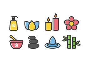Free Spa und Beauty Icons vektor