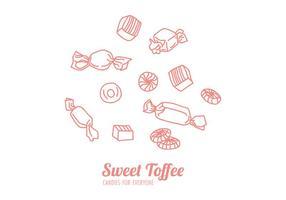 Süßigkeiten für alle vektor