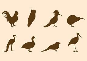 Freier Vogel Vektor