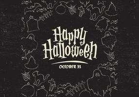Halloween Grenze Vektor