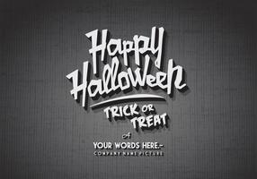 Glückliches Halloween-Kino-Vektor