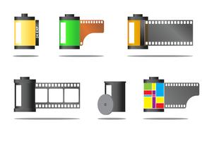 Freier Film Kanister Vektor