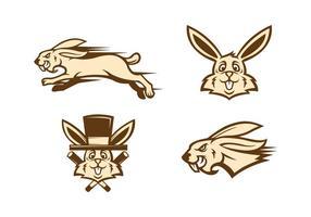 Freier Kaninchen Vektor