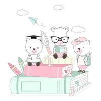 süße kleine Tiere studieren