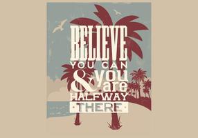 Tro att du kan Vector
