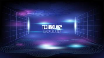 abstrakter Hintergrund der High-Tech-Kommunikationstechnologie