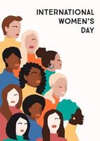 internationell kvinnodagsaffisch