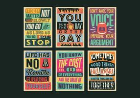 Positivitet Posters Vektor