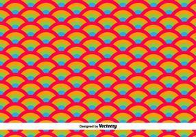 Orientalische Wellen Vektor Muster