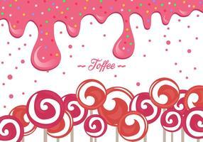 Pink Toffee Hintergrund