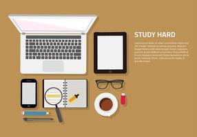 Studieren Set Free Vector