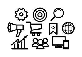 Kostenlose Marketing-Vektor vektor