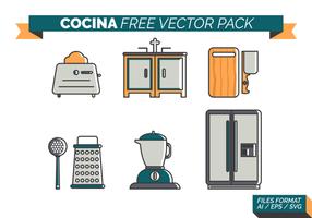 Cocina fri vektor pack