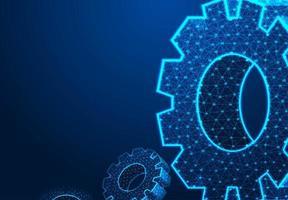 abstrakte Technologie Ausrüstung Hintergrund vektor