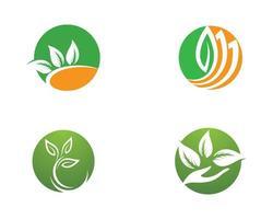Kreis Ökologie Icon Set