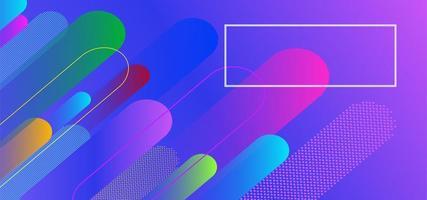 flüssigen Farbbanner Hintergrund verflüssigen vektor