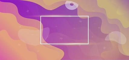 flytande flytande färg banner bakgrund