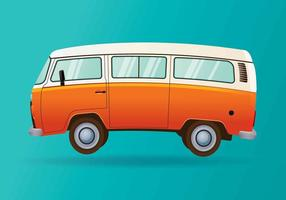 Hippie bus vektor
