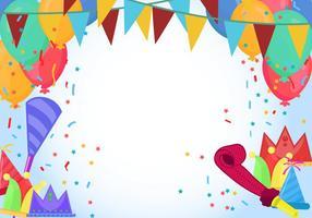 Party Vorlage vektor