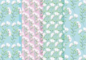 Vector Frühlings Rosen Muster