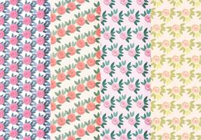 Vector bunte Rosen Muster