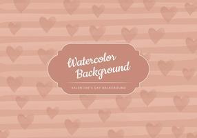 Vector Beige Valentinstag Hintergrund