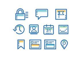 Tecnologia Facebook Seite Icon vektor