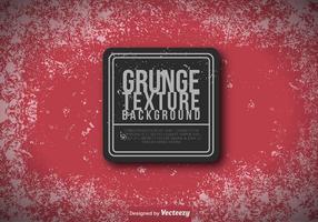 Red Grungy Hintergrund - Vector Vorlage