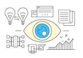 Free Eye für Business Icons