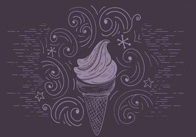 Gratis Vector Ice Cream Illustration