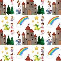 nahtlose Kinder Märchenelemente