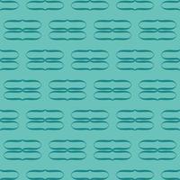 unikt stil färgglatt blått grönt mönster vektor