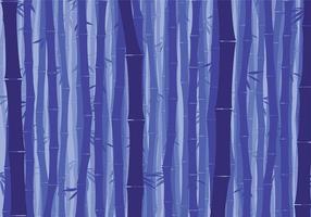 Bambus-Hintergrund Nacht Free Vector