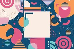 färgglad abstrakt bakgrund med geometriska former