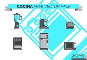 Cocina Free Vector-Pack vektor