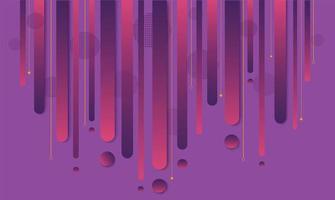 geometrisches Design des modernen lila und rosa Farbverlaufs vektor