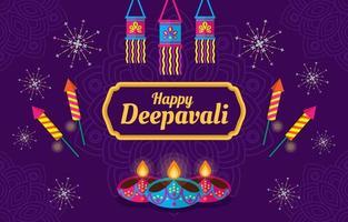 Deepavali Indian Light Festival vektor