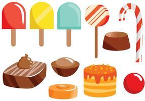 Kostenlose Süßigkeiten 2 Vektoren