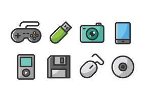 Technologie-Ikonen