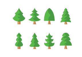 Gratis Pine Trees Vector