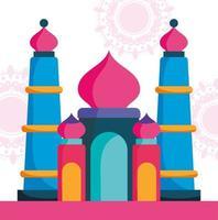 Indien Taj Mahal landmärke