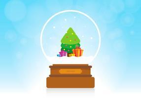 Sapin Weihnachtsgeschenk vektor