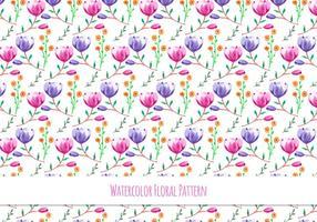 Schöne Free Vector Blumenmuster
