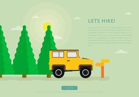 Sapin Dschungel-Wandern mit Landy
