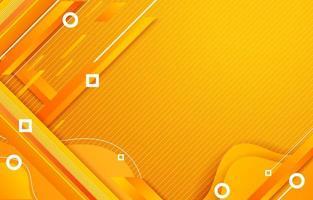 orange diagonale Linien verschiedene Formen abstrakten geometrischen Hintergrund vektor