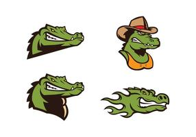 Fri krokodil Vektor