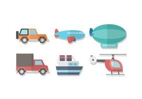 Kostenloser Transport Vector