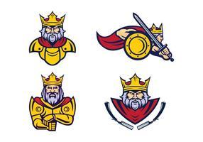 Freie Kings Vector