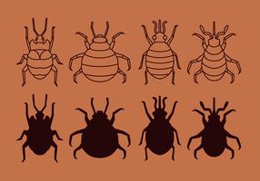 Freie Bed Bug Vector