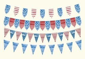 Vektor 4th of July Banners